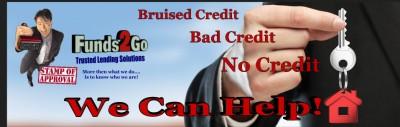 Bruised Credit, Bad Credit, No Credit